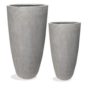 Tall FIberstone pot vietnam